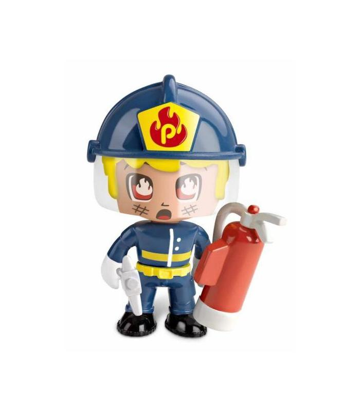 Pin And Pon Action Vehicles Firefighter With Figure Toy Store Articles Created Handbook