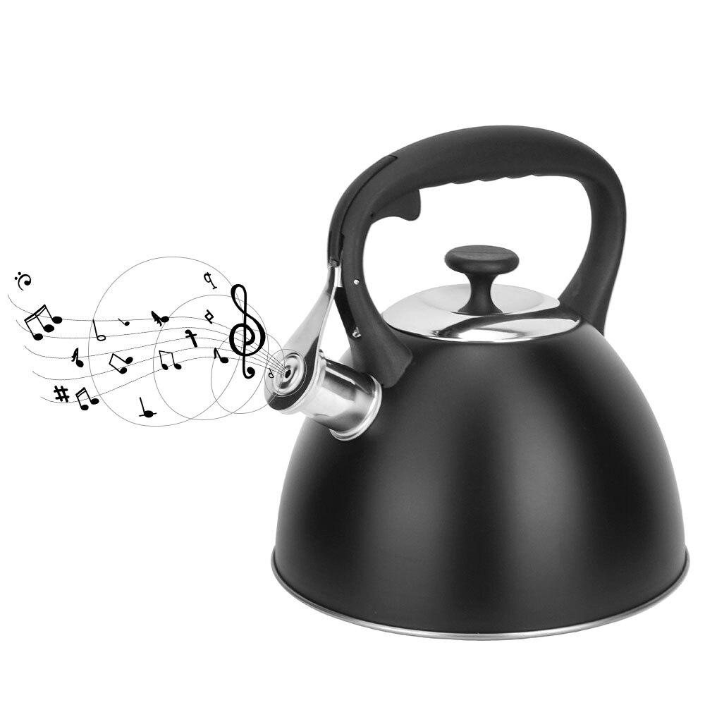 Teteras de inducción de 3,0l hervidor de silbato tetera con silbato utensilios de cocina para el hogar Hervidor de agua plegable de 110 V-240 V, hervidor de agua eléctrico comprimido, hervidor de agua de calidad alimentaria de silicona, Mini hervidor de aislamiento portátil