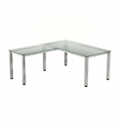 WING FOR TABLE EXECUTIVE SERIALS 100X60 PLATING/CRYSTAL (PRICE JUST FOR THE WING, THE MAIN TABLE IS PURCHASED SEPARATELY)