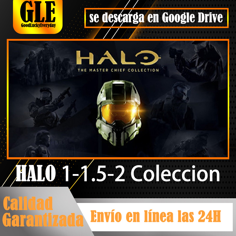 Halo 1-1.5-2 colleccion Video games application for PC unique games application download Google Drive decompress with Winzip Winrar image