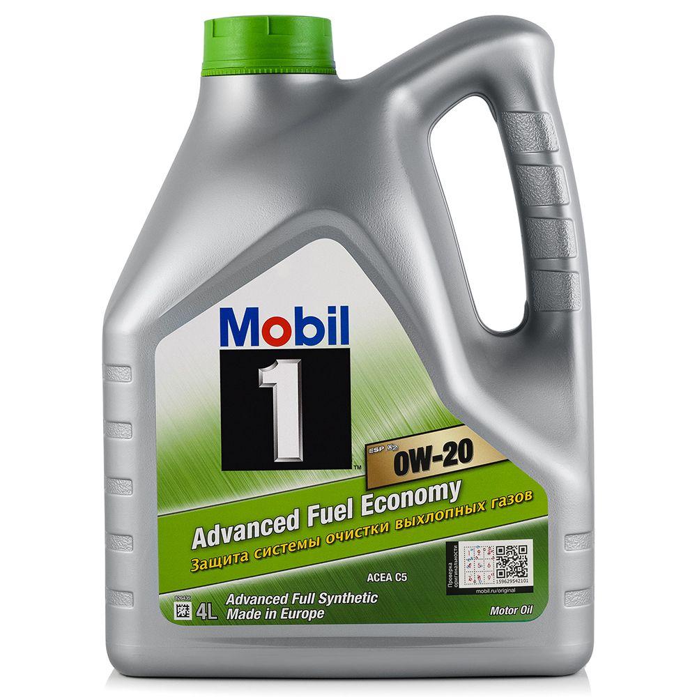 Моторное масло MOBIL 1 ESP X2 0W20 4L (153791)