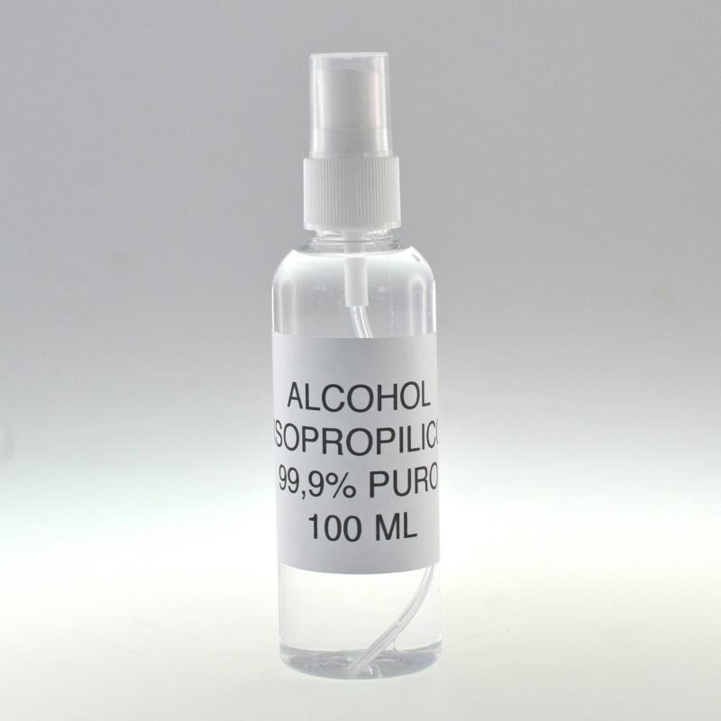 Bottle 100 Ml With Vaporizer Isopropyl Alcohol