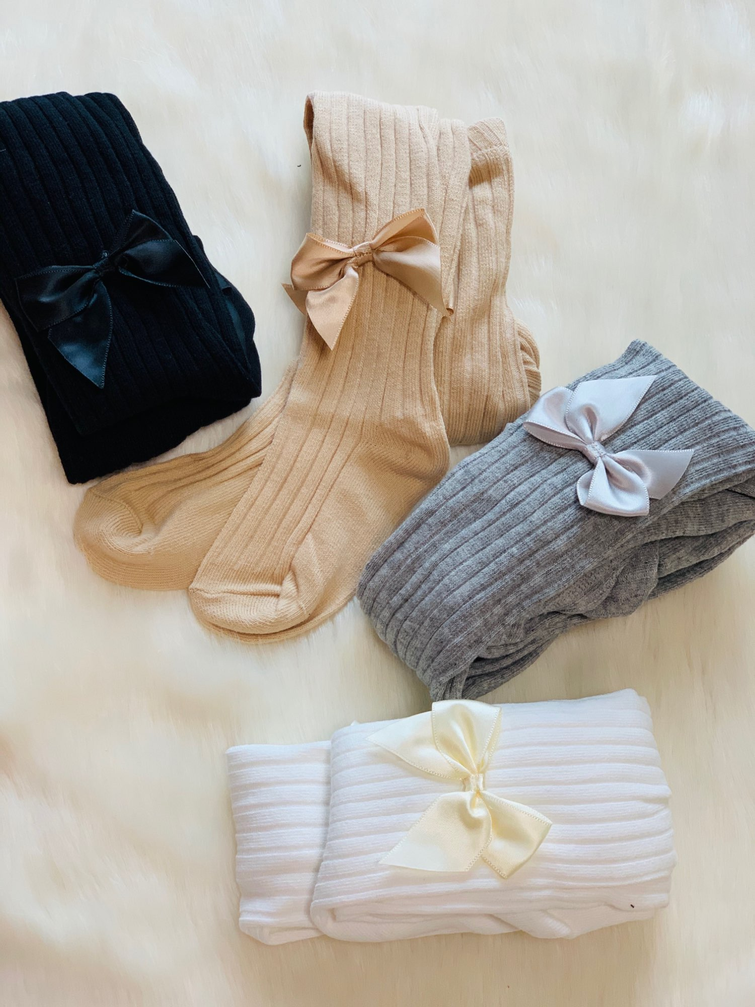 Cute Tights For Baby Girls Spring Summer Candy Color Children Pantyhose Ribbed Stockings Cotton Knitted Baby Girl Tights Kids photo review