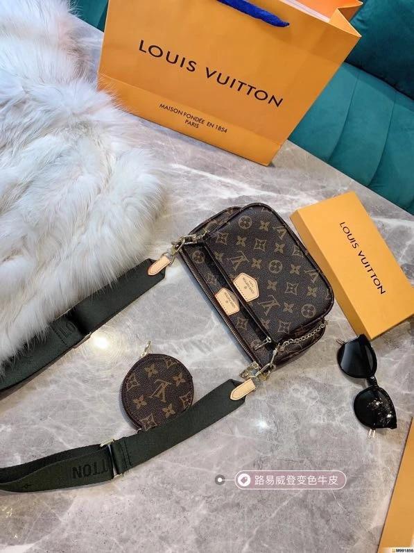 Lv sac multi pochette accessoires 3 pièces sac de luxe pour femmes marque  sac pour femmes sac pour femmes