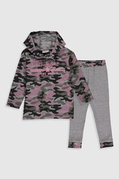 Children Clothing 2020 Autumn Winter Toddler Girl's Clothes Hooded Costume Outfit Suit Kids Tracksuit For Girls Clothing Sets bear leader kids tracksuit girls clothing sets autumn winter striped girls clothes outfit suit children clothing 3 4 5 6 7 year