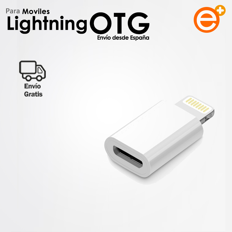 Adapter OTG Lightning Male To Micro Female Usb Compatible With Xiaomi Device Flashing Huawe Samsung