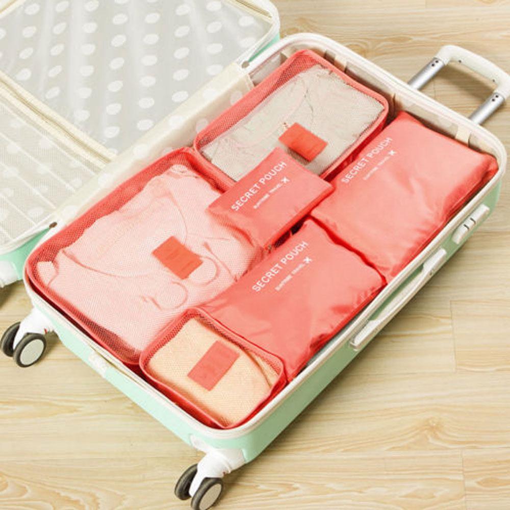 Местный запас 6 шт. водонепроницаемые дорожные сумки одежда чемодан Органайзер сумка Упаковка распродажа - Цвет: 7