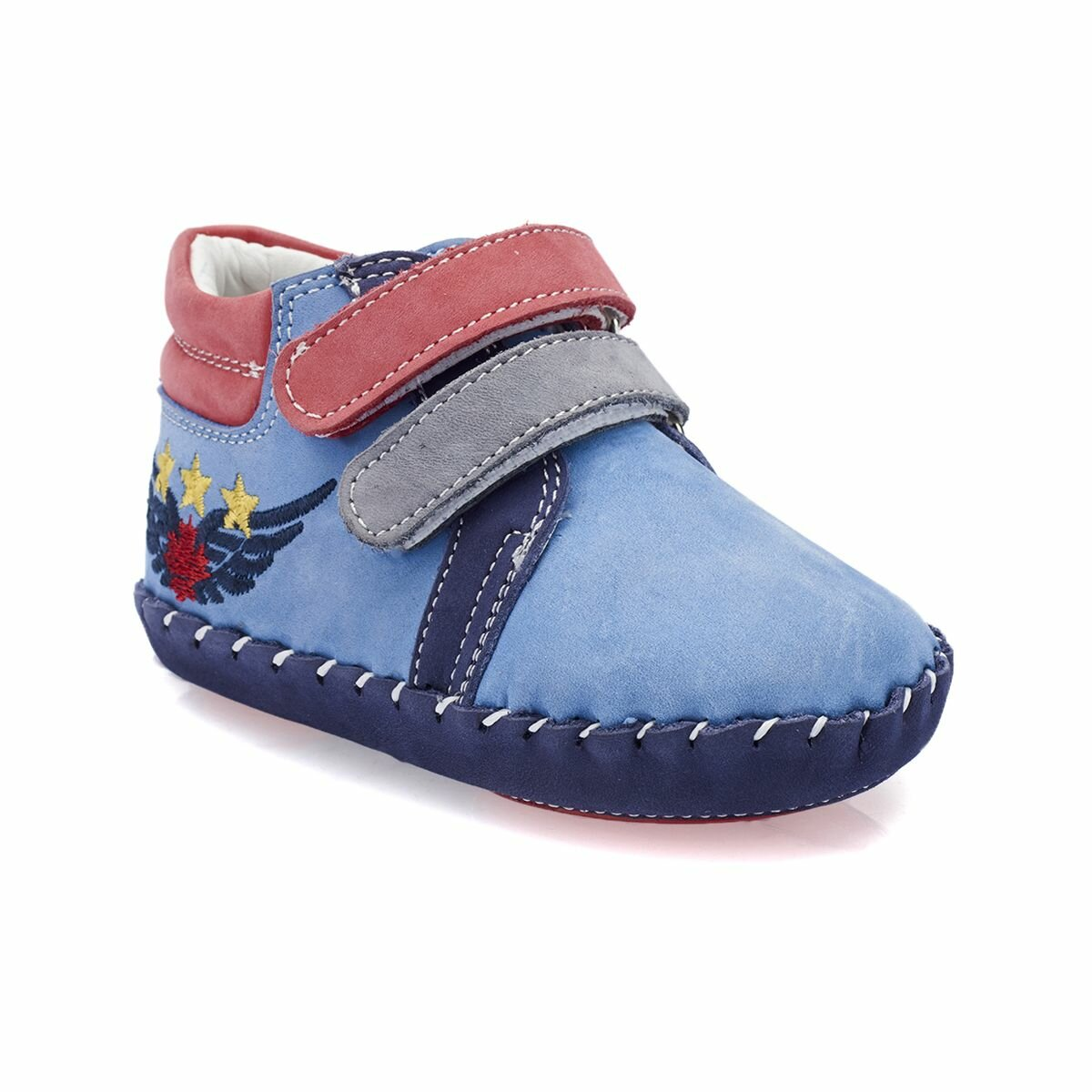 FLO 82.510531.I Blue Male Child Boots Polaris