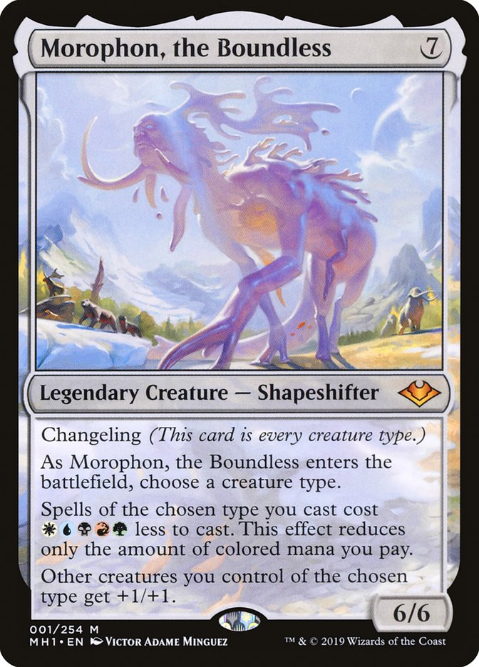 Morophon, The Boundless MH1 Hologram Magician ProxyKing 8.0 VIP The Proxy Cards To Gathering Every Single Mg Card.