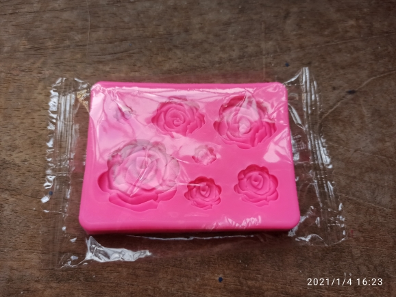 3D Roses Shaped Silicone Mold photo review
