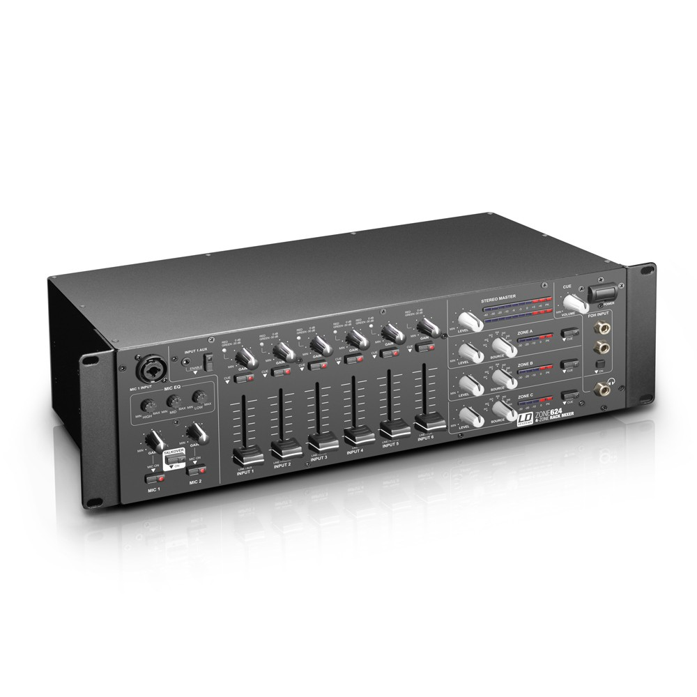 Table Blends Zones 4 5 Channel 19in RACK