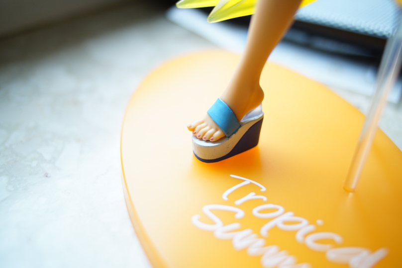 2020 Original Action Figure SEGA Miku Tropical Summer Ver. Figure PVC Model Doll Toys Figurals photo review