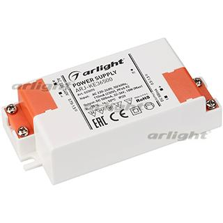 023075 Power Supply Arj-ke36500 (18W, 500mA, PFC) Arlight Box 1-piece