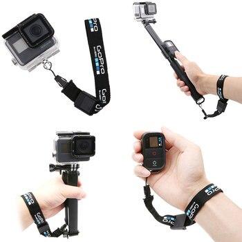 Hot Wrist Strap Nylon String Hand Lanyard Rope Cord Adjustable for GoPro Hero 9 8 7 6 SJCAM DJI OSMO Action Camera Accessories - discount item  30% OFF Camera & Photo