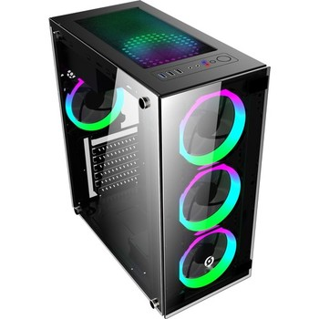 GameTech GT-003 4x120mm Fan Tempered Window Player Computer case 1