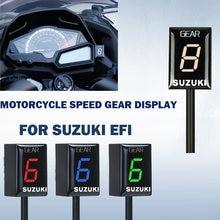 Mostrar Indicador de Velocidade Da Engrenagem da motocicleta Para SUZUKI DL650 V-Strom DL1000 SV650 SV1000 GSXR750 VL1500 C1800R R1000R R600 R750