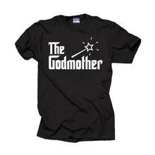Горячая Распродажа крестной футболка подарок на крестины для