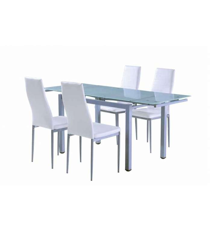 Table Extendable Glass Model Ucero