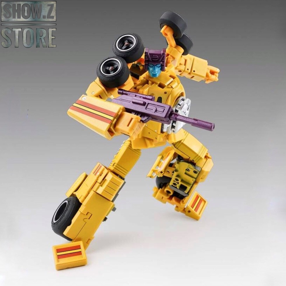 [Show.Z Store] X-Transbots MX-16T Overheat Drag Strip Youth Version Monolith Combiner Menasor Transformation Action Figure
