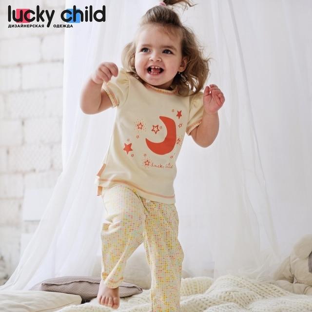 Пижама Lucky Child для девочек, арт. 12-402 [сделано в России, доставка от 2-х дней]