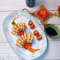 """#美食说出""""新年好""""#新年开运菜红红火火灯笼虾的做法图解10"""
