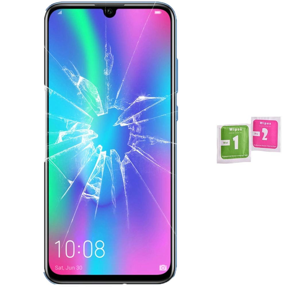 Screen Protector Tempered Glass Vidrio Para For HUAWEI HONOR 10 LITE (Generico, Not Full