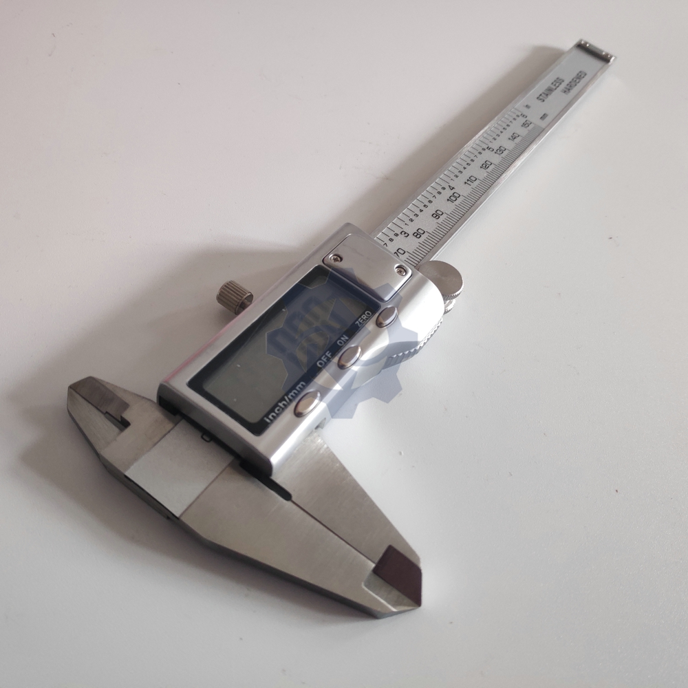 150 мм цифровые Штангенциркули нержавеющая сталь электронный цифровой штангенциркуль металлический микрометр измерительный инструмент