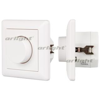 022154 Panel Rotary SR-2202N-A White (220 V, 0-10 V) Box-1 Pcs ARLIGHT-Управление Light/Lot 0-10 V, 1-10 V/~ 89