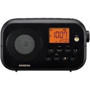 Sangean pr-d12bt черный Настольный радио fm am bluetooth аккумуляторные батареи