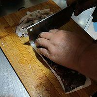 家常韭菜鱿鱼的做法图解2
