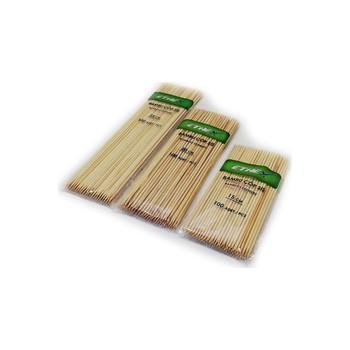 Szaszłyki bambusowe 1000 sztuk 15 cm 20cm 25cm tanie i dobre opinie ethex Drewna
