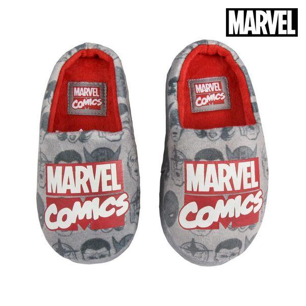 House Slippers Marvel Grey