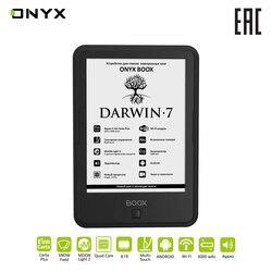 Электронная книга ONYX BOOX DARWIN 7 e-ink 6 читалка с подсветкой и сенсорным экраном