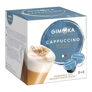 Cappuccino Gimoka®, Dolce Gusto®Compatible 16 capsules for 8 services