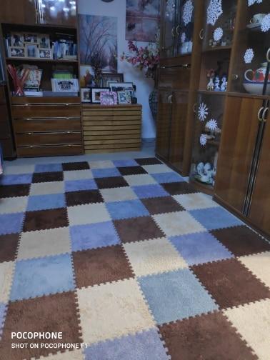 Splicing Carpets Plush Soft photo review