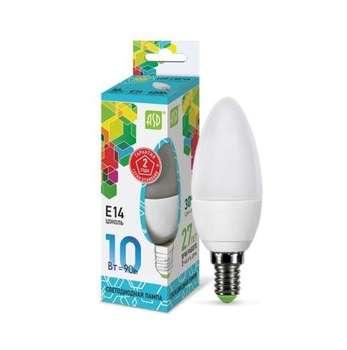 Lámpara led vela-estándar 10w 230v E14 4000 K 900lm ASD 4690612015576