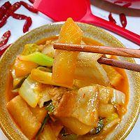 此季节最馋人的㊙️五花肉炖萝卜白菜的做法图解14