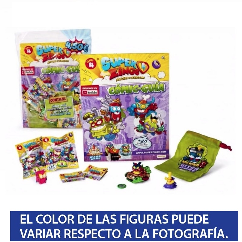 Superzings Series 4-STARTER PACK Inicial Special