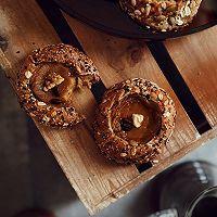咖啡布丁面包碗的做法图解6
