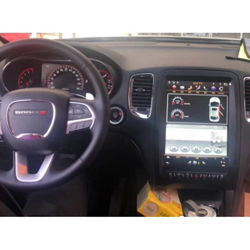 Chogath 12.1inch car multimedia player android 7.1 car gps navigation 4+64  Tesla screen for Dodge Durango 2012-2019