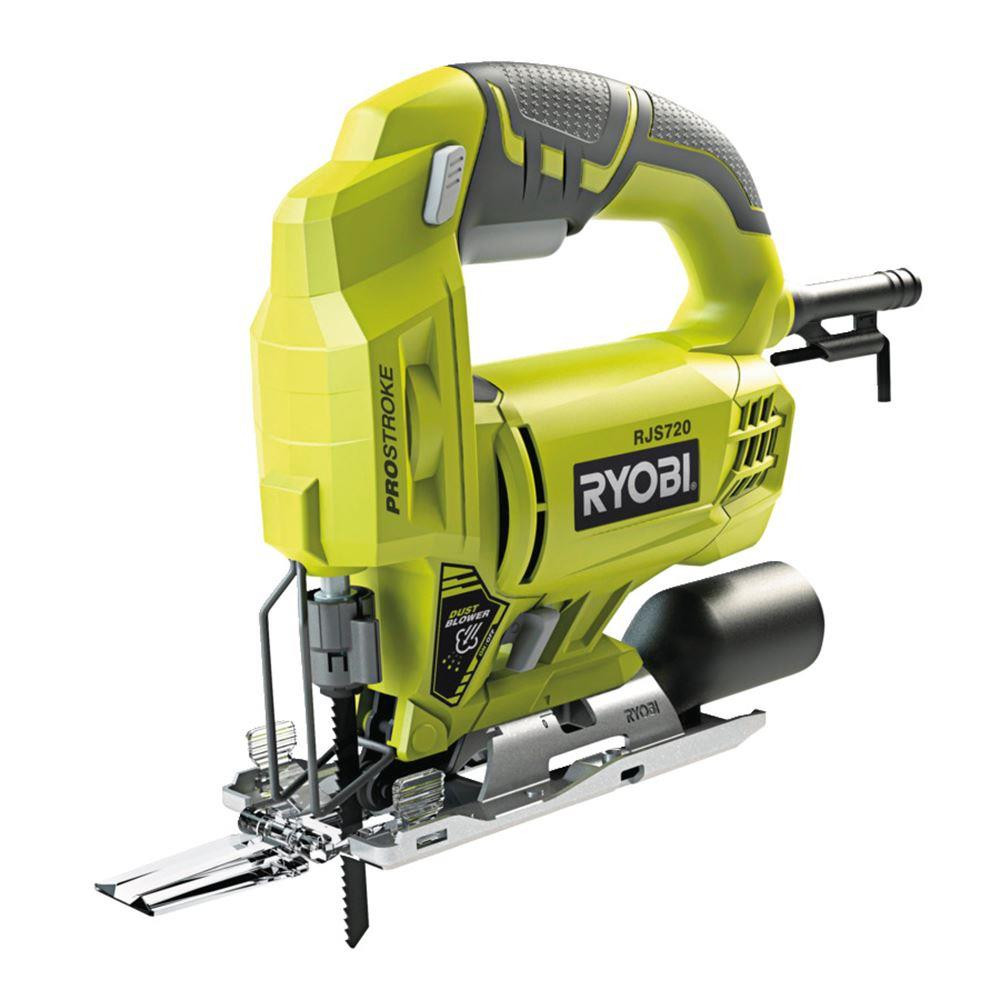U556913414c7f41f0b4f661e73ce607819 - Ryobi RJS720G 500 Watt Jig Saw. Electric Scroll saw machine. Wired wooden hand saw
