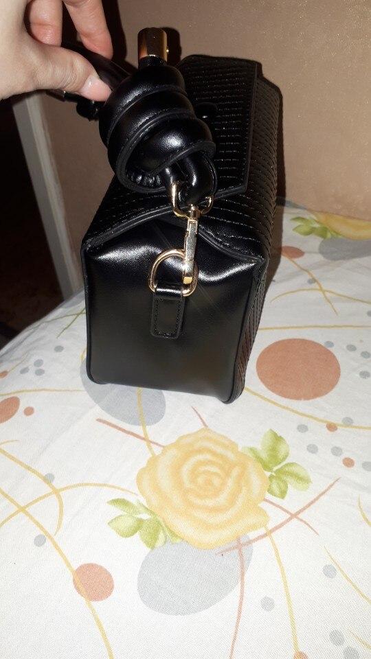 Theodora Boxy Bag photo review