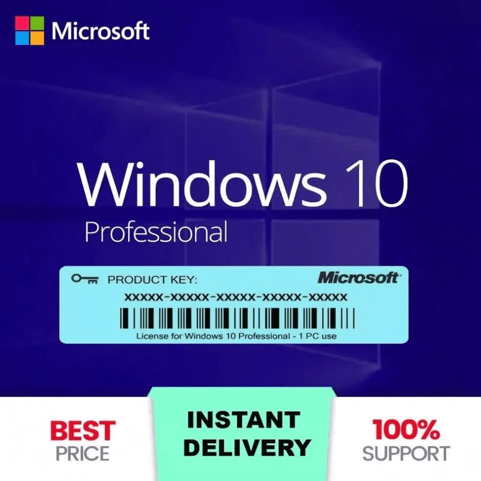 Pencere 10 Pro anahtar даты Ⓒ отображение 32/64-Bit там sürüm Hızlı Gönderi