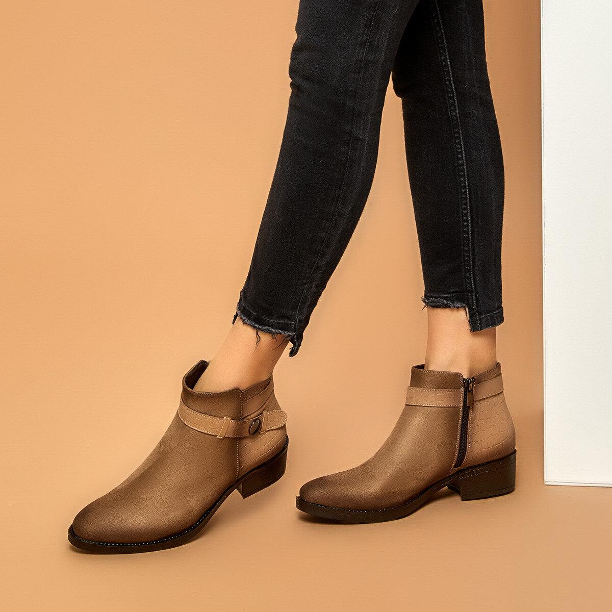 FLO LAVANDA Mink Women 'S Boots BUTIGO