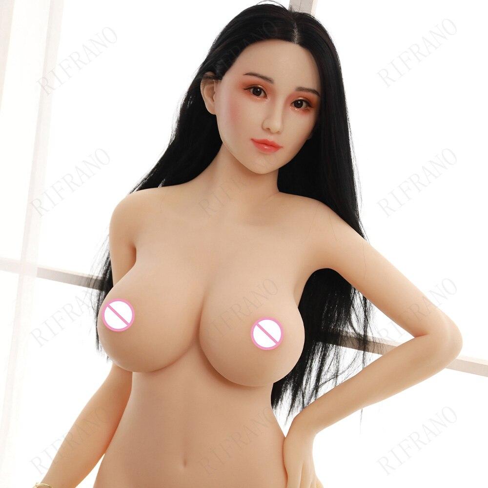 Реалистичная Силиконовая секс-кукла для взрослых, 170 см, женская кукла с большой грудью, металлическим скелетом, американский Европейский о...