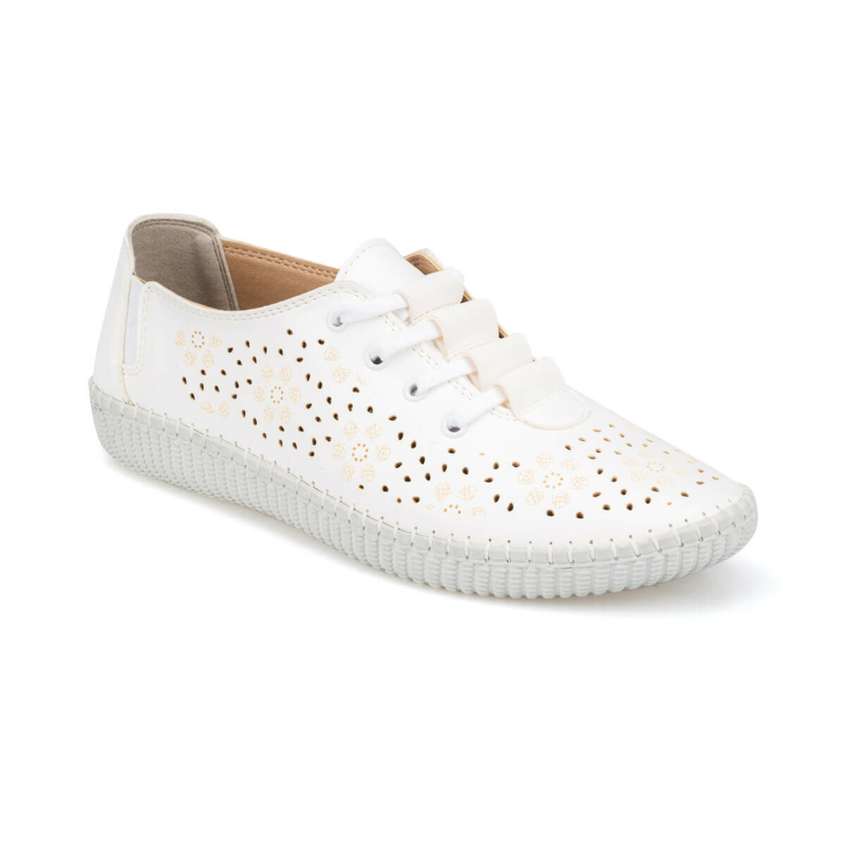 FLO 91.158416.Z White Women 'S Shoes Polaris