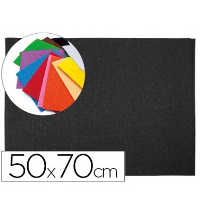 EVA RUBBER LEADERPAPER 50X70CM 60G/M2 THICKNESS 2MM TOWEL TEXTURE BLACK 10 Pcs