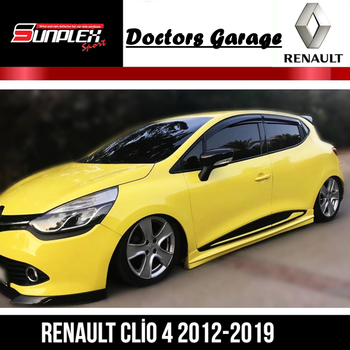 Renault Clio 4 Wind Deflector 2012 2013 2014 2015 2016 2017 2018 2019 Sport Rain Window Visor Piano Black Car Auto Accessory light transmission wind deflector for toyota rav4 rav 4 2013 2014 2015 2016 2017 rain window visor for toyota rav4 2013 2017