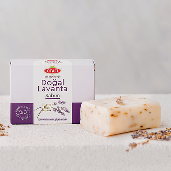 Natural Lavender and Olive Soap For Face Hand Body Healthy Care Turkish Otaci Brand %100 Original недорого