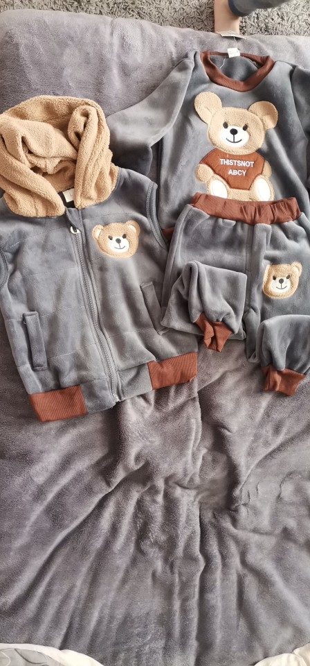 New 2021 Fall and Winter Soft Baby clothes for boy and girl photo review